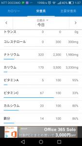 カロリーメイト成分2